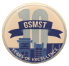 GSMST 10th Anniversary Button
