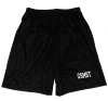 Black Mesh Gym Shorts