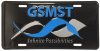 GSMST License Plate