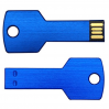 Key USB Drive 8GB Blue